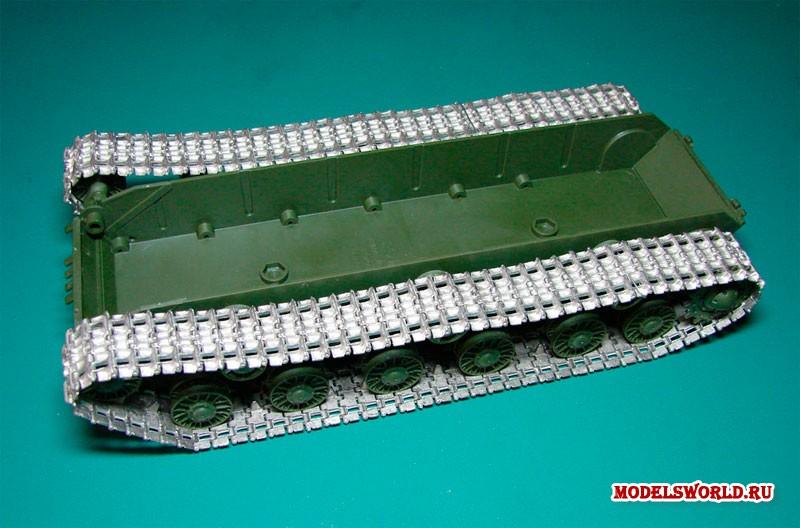 Траки для моделей танков своими руками